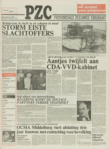 Provinciale Zeeuwse Courant 1977-11-14