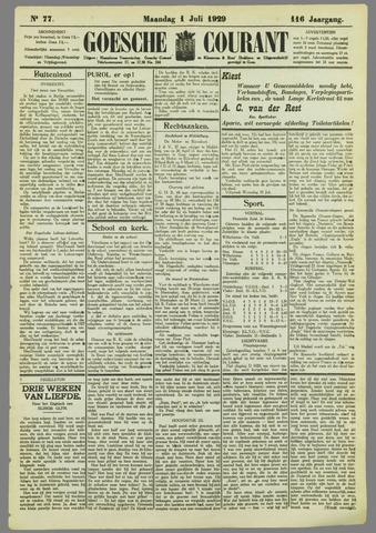 Goessche Courant 1929-07-01