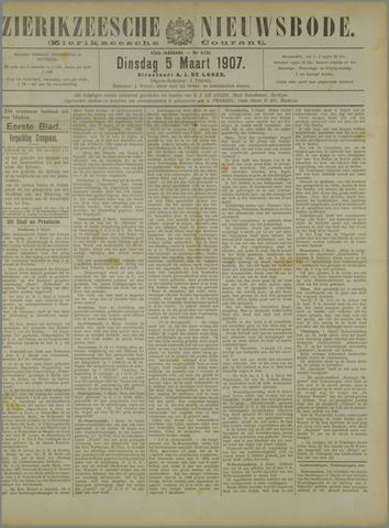 Zierikzeesche Nieuwsbode 1907-03-05