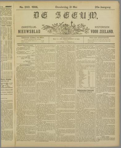 De Zeeuw. Christelijk-historisch nieuwsblad voor Zeeland 1906-05-31