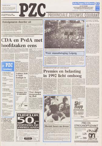 Provinciale Zeeuwse Courant 1989-10-17