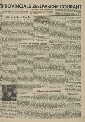 Provinciale Zeeuwse Courant 1943-10-30