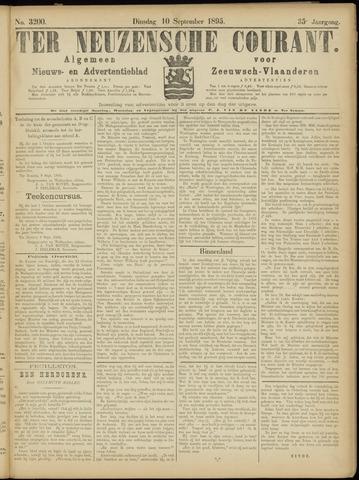 Ter Neuzensche Courant. Algemeen Nieuws- en Advertentieblad voor Zeeuwsch-Vlaanderen / Neuzensche Courant ... (idem) / (Algemeen) nieuws en advertentieblad voor Zeeuwsch-Vlaanderen 1895-09-10