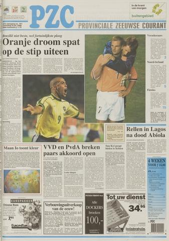 Provinciale Zeeuwse Courant 1998-07-08