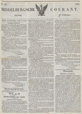 Middelburgsche Courant 1866-02-27