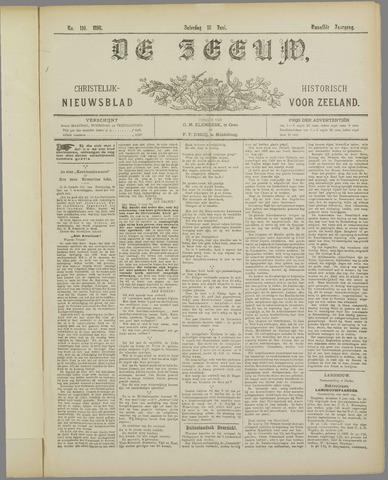 De Zeeuw. Christelijk-historisch nieuwsblad voor Zeeland 1898-06-18