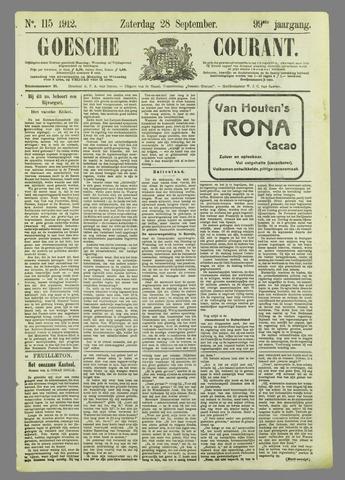 Goessche Courant 1912-09-28