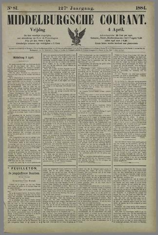 Middelburgsche Courant 1884-04-04