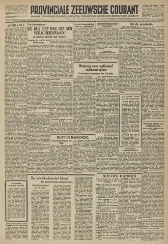 Provinciale Zeeuwse Courant 1946-03-29