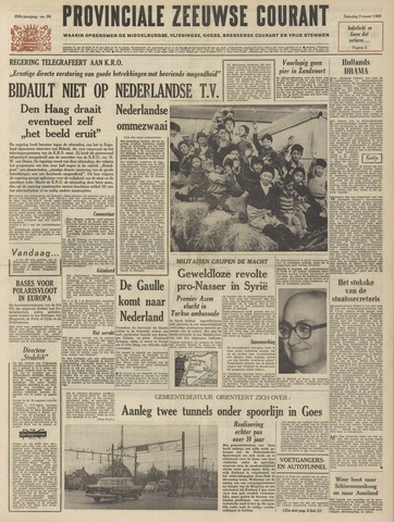 Provinciale Zeeuwse Courant 1963-03-09