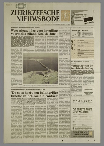 Zierikzeesche Nieuwsbode 1991-10-18