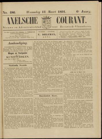Axelsche Courant 1891-03-11