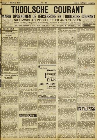 Ierseksche en Thoolsche Courant 1934-10-05