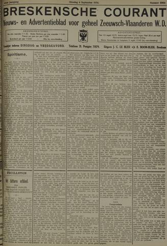 Breskensche Courant 1934-09-04