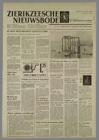Zierikzeesche Nieuwsbode 1965-09-14