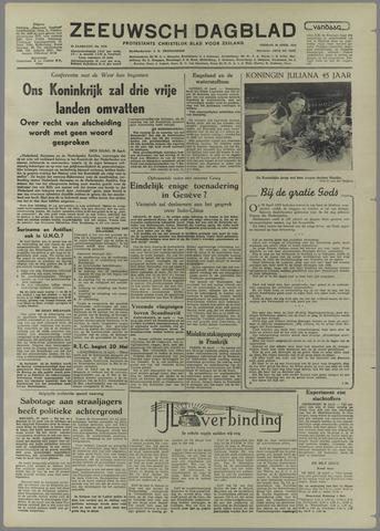 Zeeuwsch Dagblad 1954-04-30