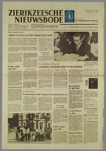 Zierikzeesche Nieuwsbode 1972-07-25