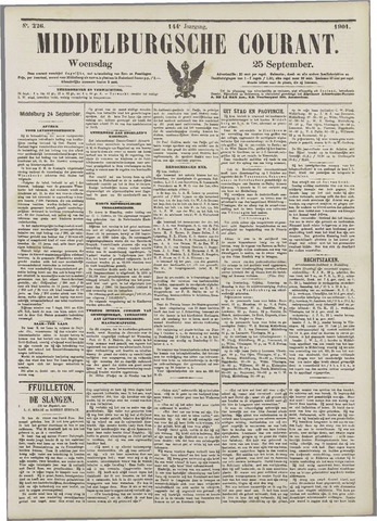 Middelburgsche Courant 1901-09-25
