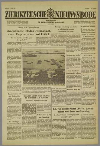 Zierikzeesche Nieuwsbode 1959-04-07