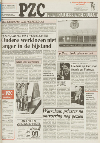 Provinciale Zeeuwse Courant 1984-10-23