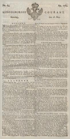 Middelburgsche Courant 1763-05-28