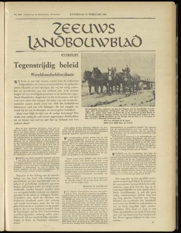 Zeeuwsch landbouwblad ... ZLM land- en tuinbouwblad 1961-02-11