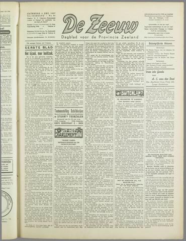 De Zeeuw. Christelijk-historisch nieuwsblad voor Zeeland 1937-12-04
