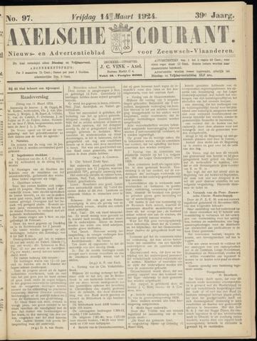 Axelsche Courant 1924-03-14
