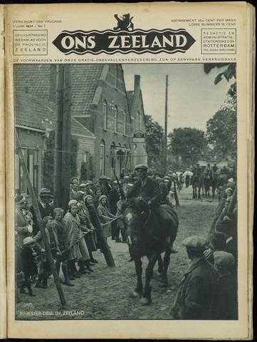 Ons Zeeland / Zeeuwsche editie 1934-06-01
