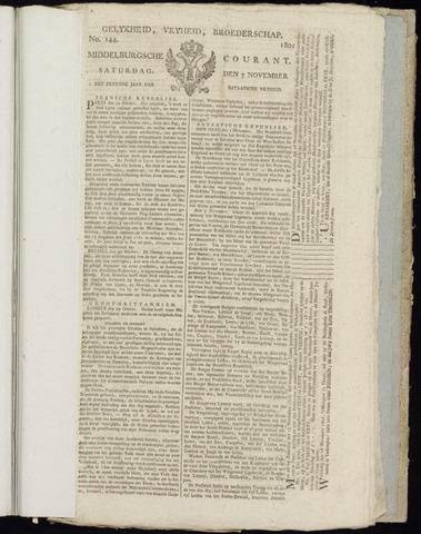 Middelburgsche Courant 1801-11-07