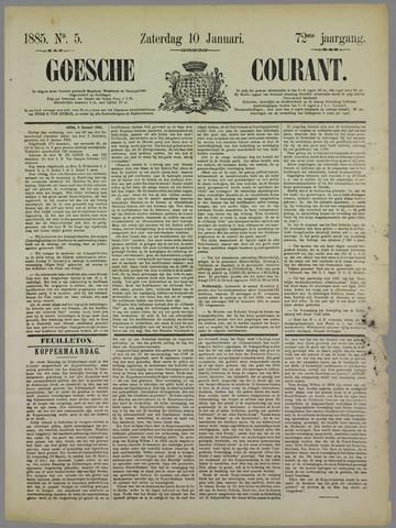 Goessche Courant 1885-01-10