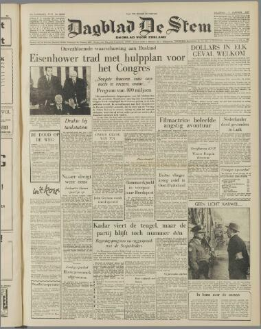 de Stem 1957-01-07