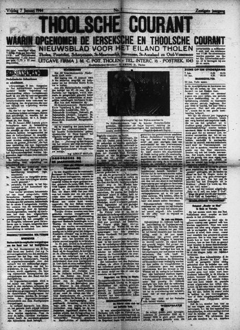 Ierseksche en Thoolsche Courant 1944