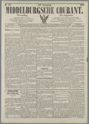Middelburgsche Courant 1895-08-14