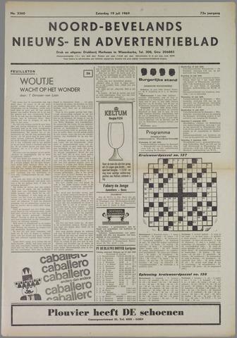 Noord-Bevelands Nieuws- en advertentieblad 1969-07-19