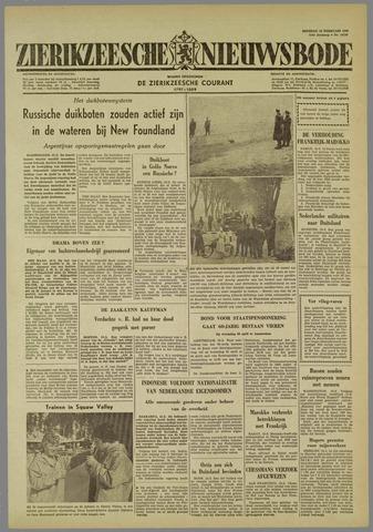 Zierikzeesche Nieuwsbode 1960-02-16