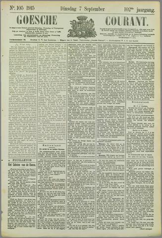 Goessche Courant 1915-09-07