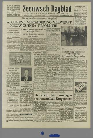 Zeeuwsch Dagblad 1957-11-30