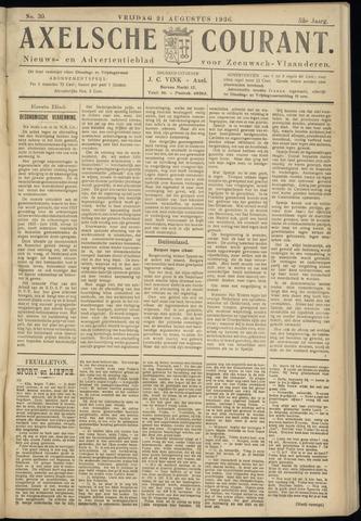 Axelsche Courant 1936-08-21