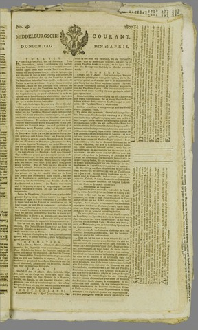 Middelburgsche Courant 1807-04-16