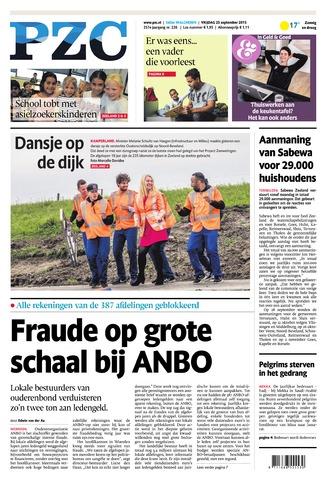 Provinciale Zeeuwse Courant 2015-09-25