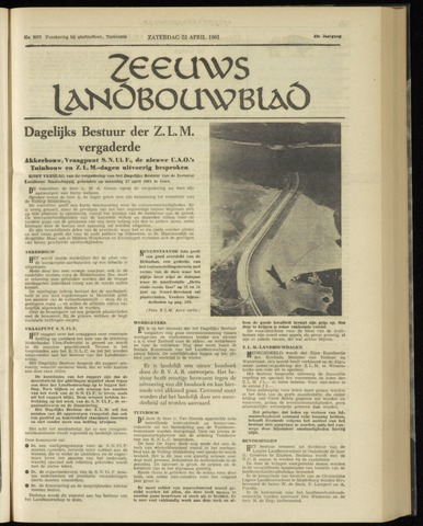 Zeeuwsch landbouwblad ... ZLM land- en tuinbouwblad 1961-04-22