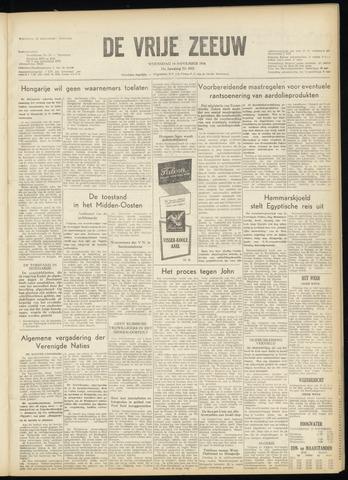 de Vrije Zeeuw 1956-11-14