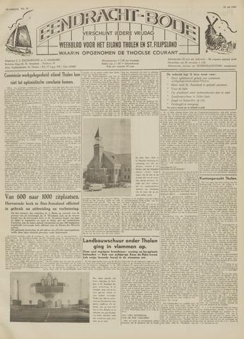 Eendrachtbode (1945-heden)/Mededeelingenblad voor het eiland Tholen (1944/45) 1959-07-24