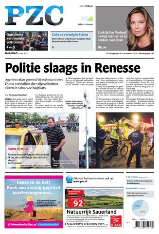 Provinciale Zeeuwse Courant 2015-04-13