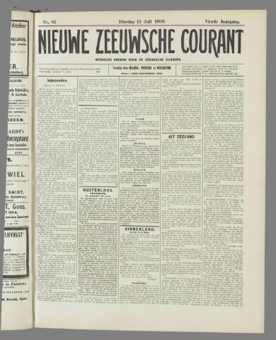 Nieuwe Zeeuwsche Courant 1908-07-14