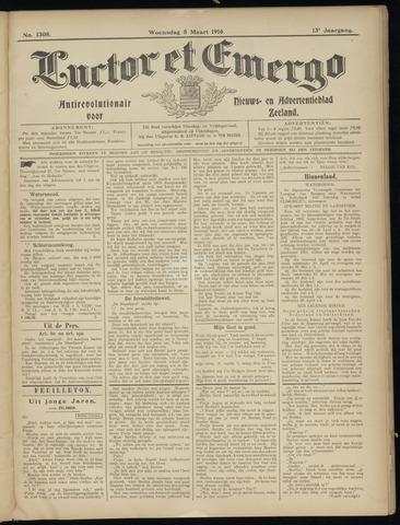 Luctor et Emergo. Antirevolutionair nieuws- en advertentieblad voor Zeeland / Zeeuwsch-Vlaanderen. Orgaan ter verspreiding van de christelijke beginselen in Zeeuwsch-Vlaanderen 1916-03-08