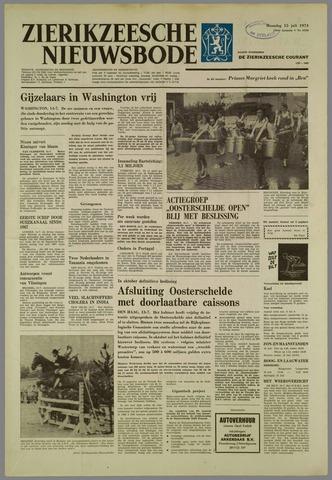 Zierikzeesche Nieuwsbode 1974-07-15