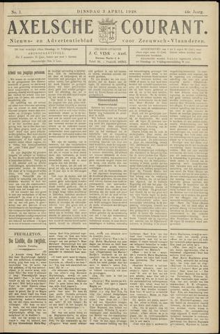 Axelsche Courant 1928-04-03