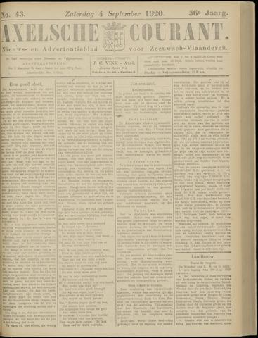 Axelsche Courant 1920-09-04